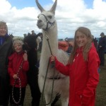 Children With Our Llamas